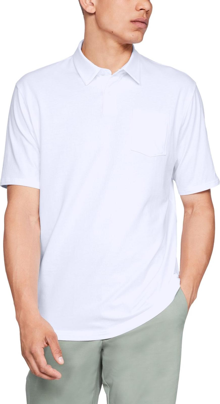 Tee-shirt Under Armour Charged Cotton Scramble Polo