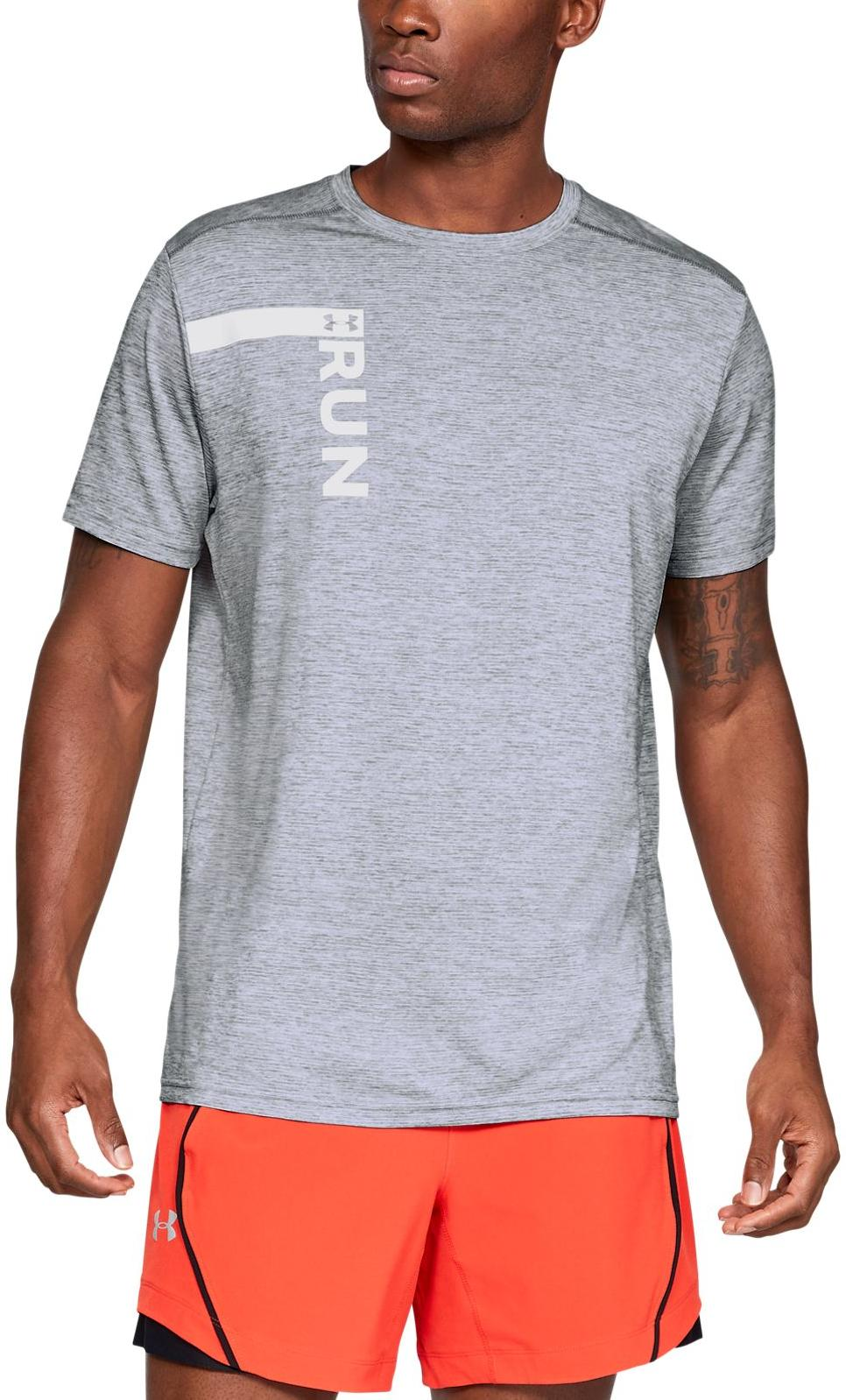 Tee-shirt Under Armour UA RUN TALL GRAPHIC SS