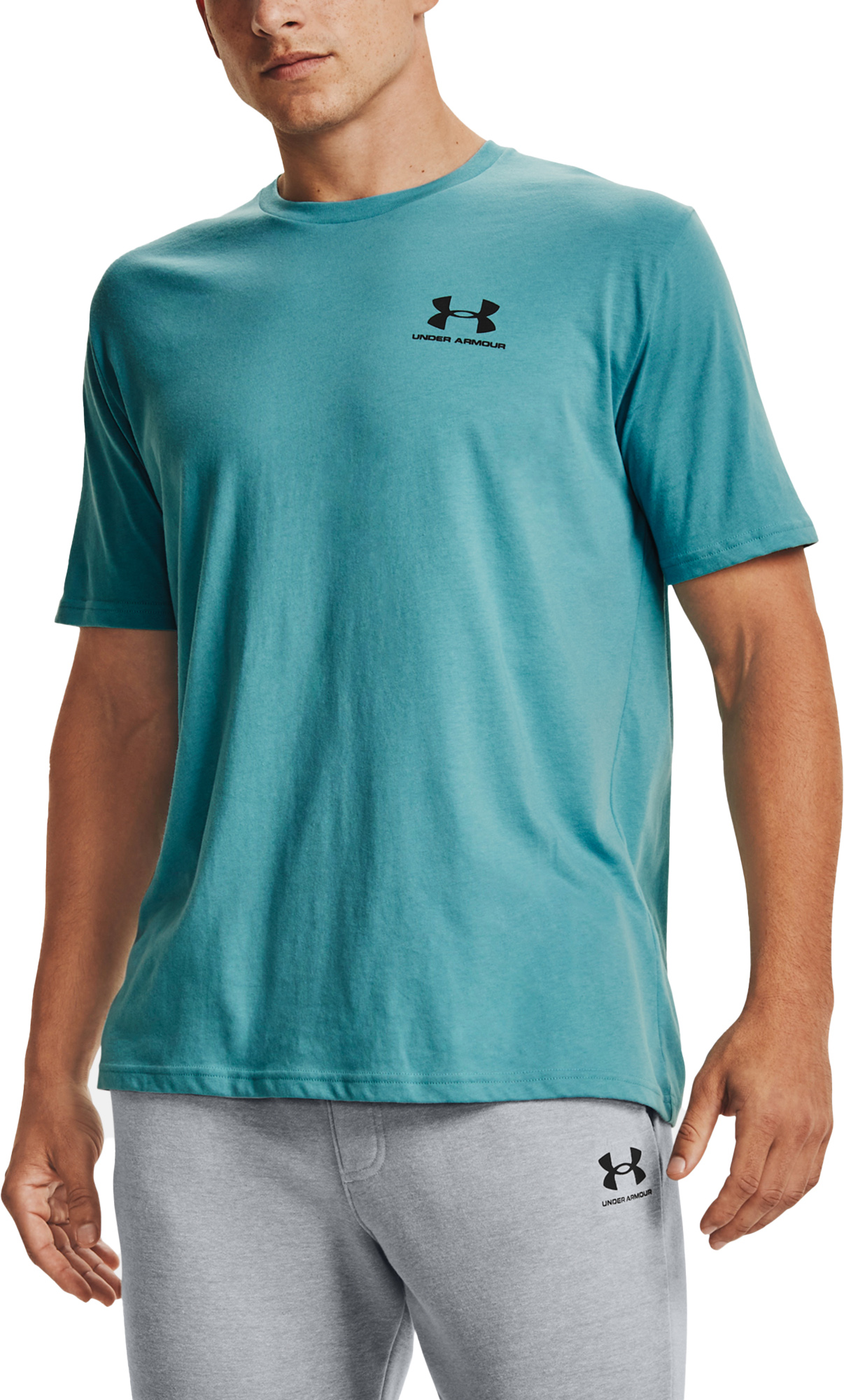 Tee-shirt Under Armour UA SPORTSTYLE LC SS-BLU