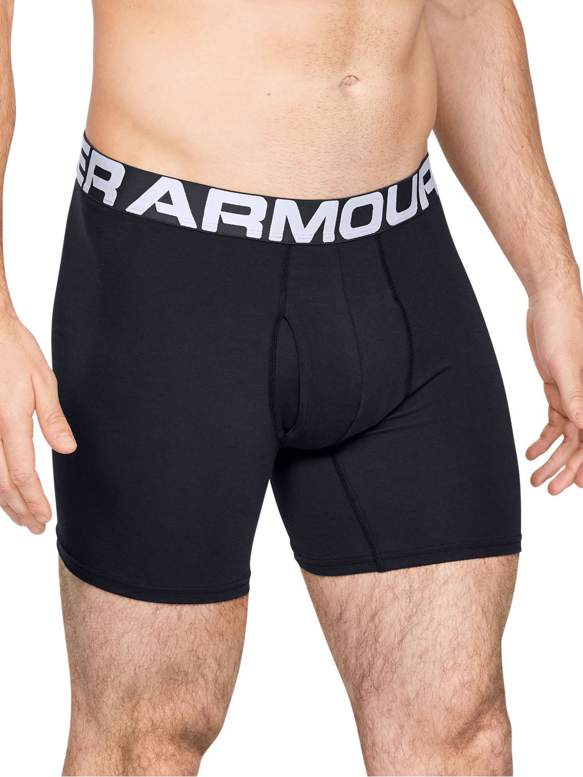 Pantalons courts Under Armour Charged Cotton 6in 3 Pack