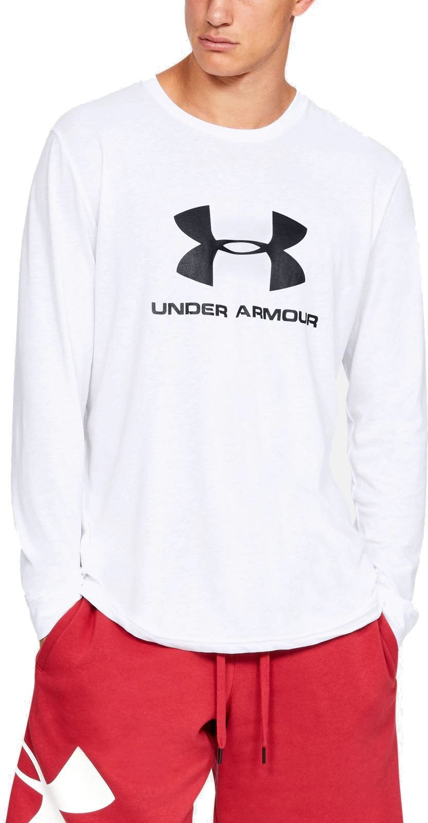 Tee-shirt à manches longues Under Armour SPORTSTYLE LOGO LS