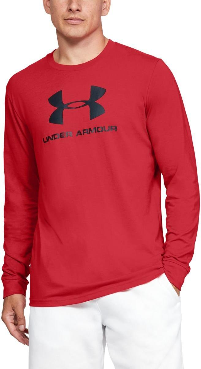 Tee-shirt à manches longues Under Armour UA SPORTSTYLE LOGO LS