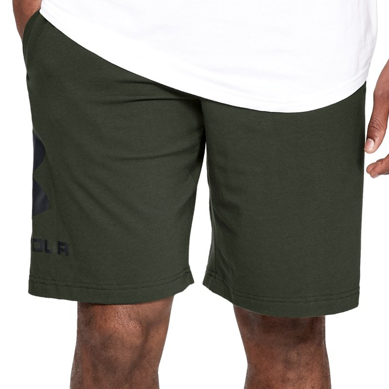 Pantalons courts Under Armour SPORTSTYLE COTTON GRAPHIC SHORT