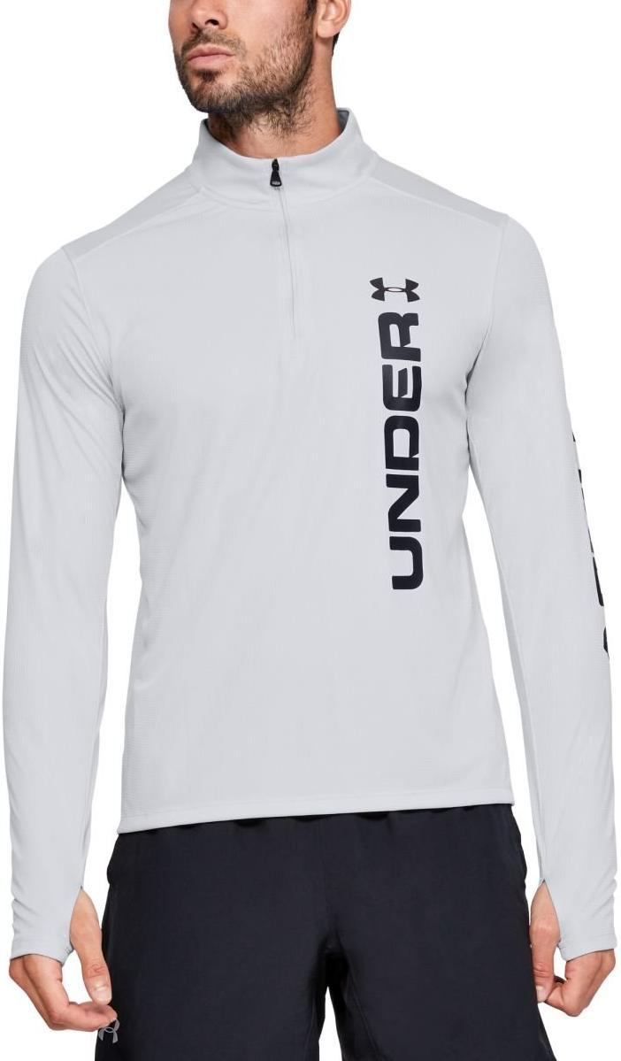 Tee-shirt à manches longues Under Armour UA SPEED STRIDE SPLIT 1/4 ZIP