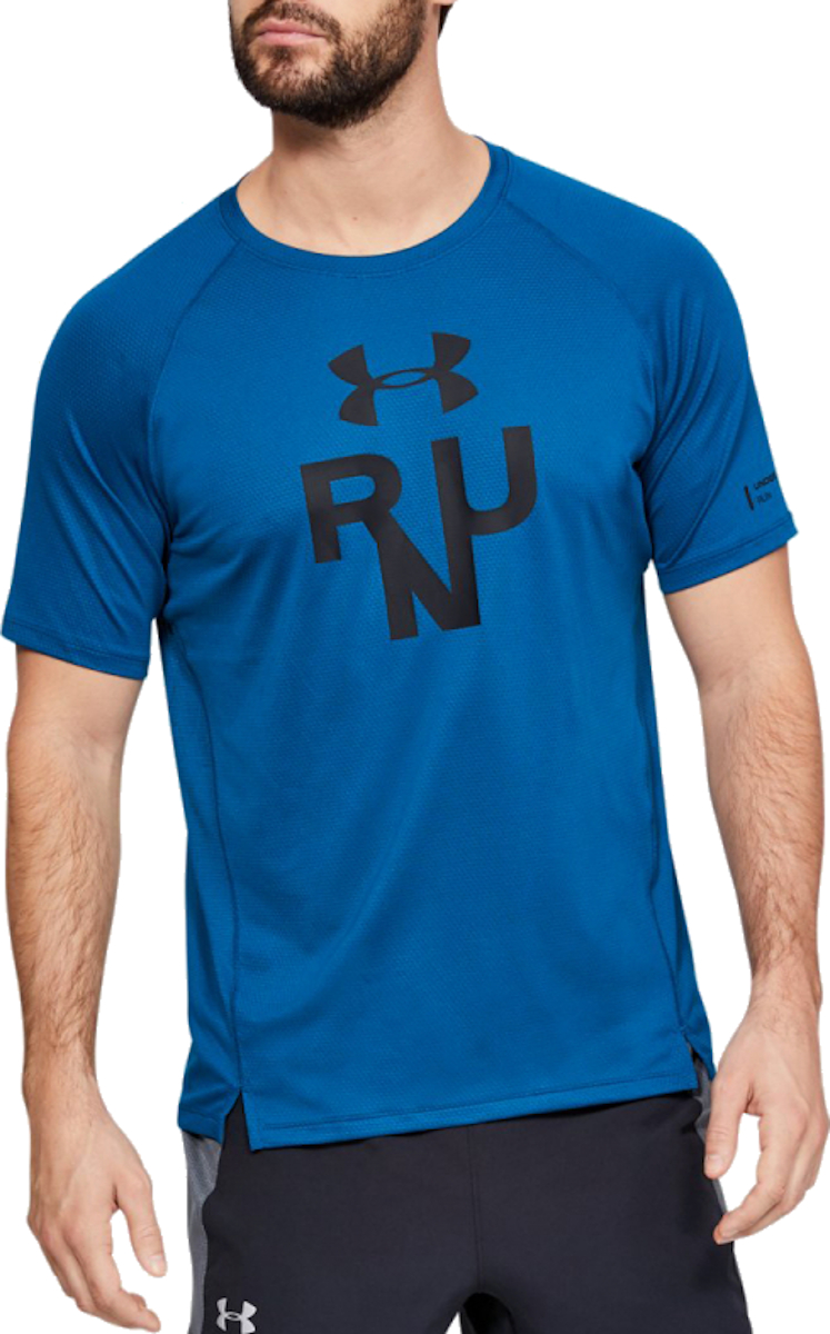 Tee-shirt Under Armour UA QUALIFIER GLARE SS