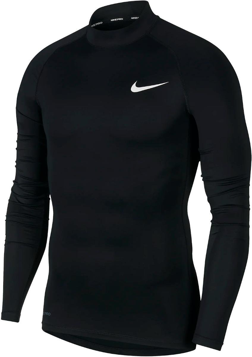 Tee-shirt à manches longues Nike M NP TOP LS TIGHT MOCK